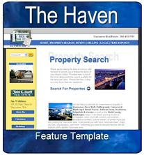 real estate template design twenty two